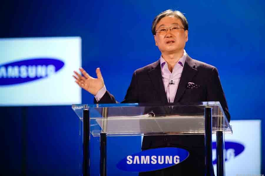 "During a wild and theatrical keynote Thursday at CES in  Las Vegas, Boo-Keun Yoon, president of Samsung's Visual Display business,  <a href=""http://ces.cnet.com/8301-32254_1-20027481-283.html"">outlined Samsung's vision for the future</a> and why the TV is the centerpiece of all entertainment technology. <br><br> Samsung's Smart TV service, Yoon said, an interactive, on demand media center that serves as the centreal point in our connected worlds, is poised to be the leader in Internet-connected TVs and media devices."