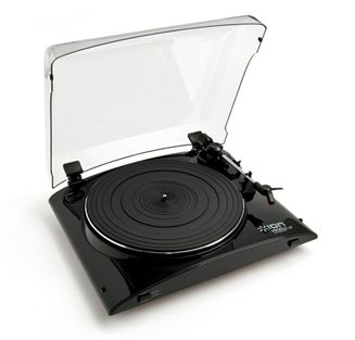 The Ion Audio Profile LP is a USB turntable that converts your old vinyl records into shiny new MP3s.