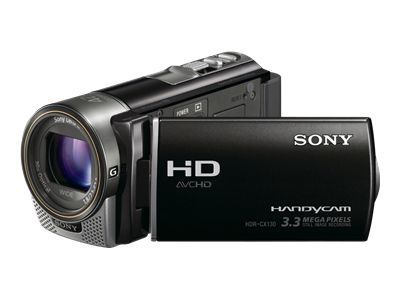 Sony Handycam HDR-CX130 (Black)