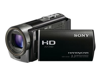 Sony Handycam HDR-CX130E PAL (Black)