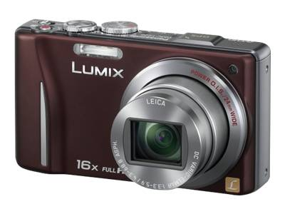 Panasonic Lumix DMC-ZS10 (Brown)