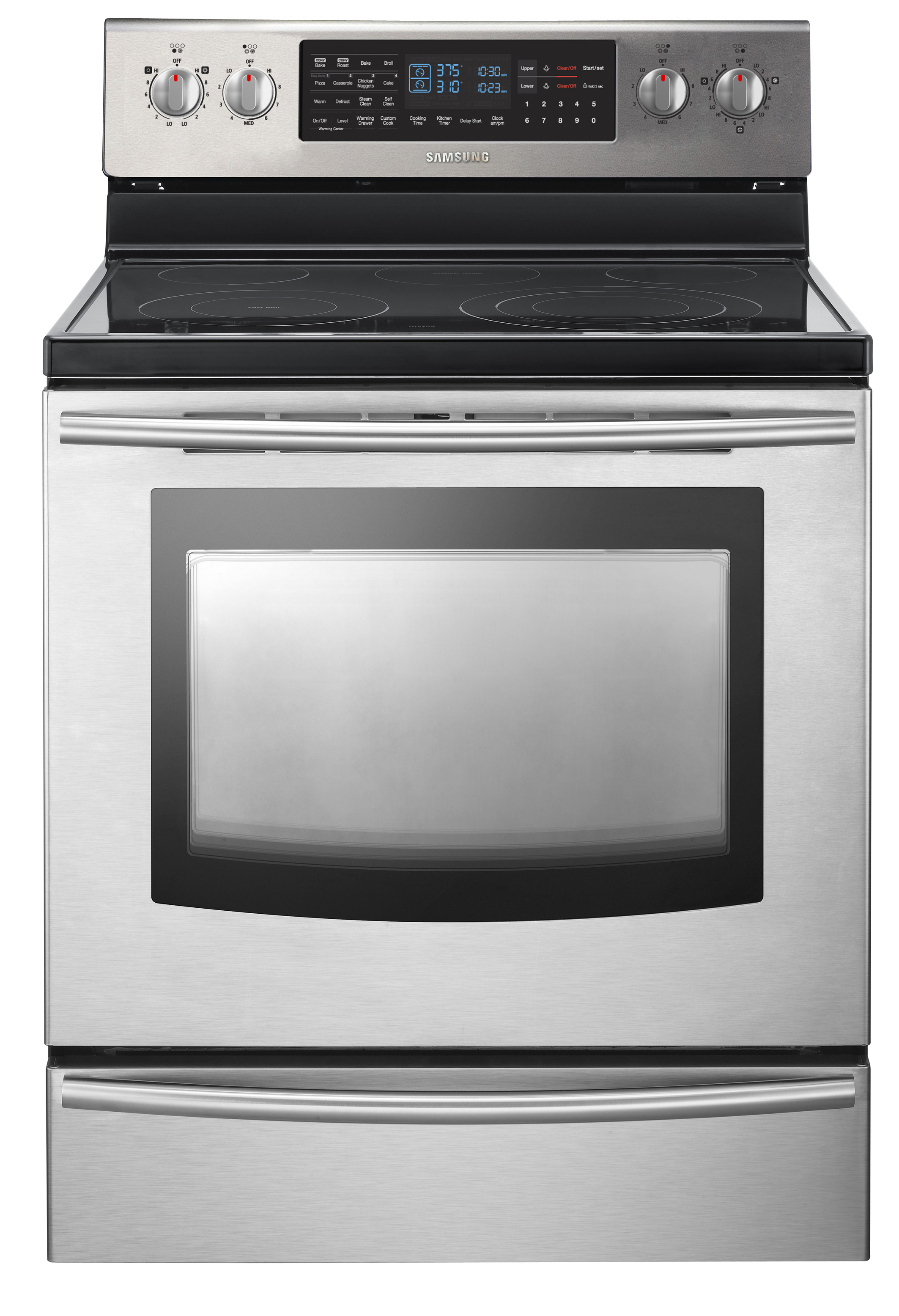 The Samsung FE710DRS Flex Oven hides a secret.