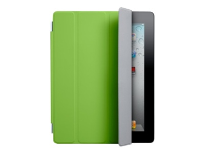 Apple Smart Cover - Protective cover for web tablet - polyurethane - green - for iPad 2