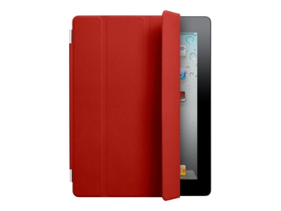 Apple iPad Smart Cover - (PRODUCT) RED - Protective cover for web tablet - leather - red - for iPad 2