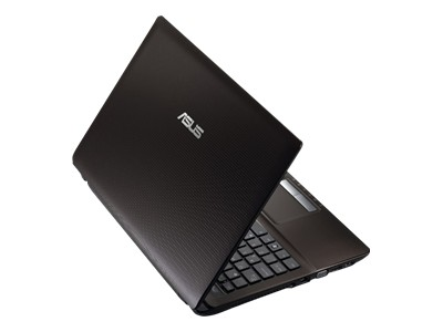 "ASUS K53E DS51 - Core i5 2450M / 2.6 GHz - Windows 7 Home Premium 64-bit - 4 GB RAM - 500 GB HDD - DVD-Writer DL - 15.6"" wide 1366 x 768 / HD - Intel HD Graphics 3000 - mocha"