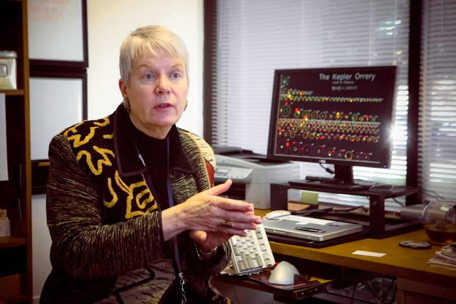 Jill Tarter, director of the SETI Institute, wants individuals to help in the search for intelligent life in the universe.