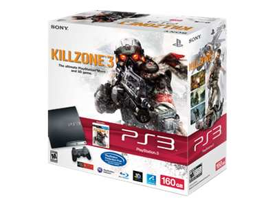 Sony PlayStation 3 Slim (160GB) Killzone 3 Bundle