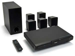 The Philips HTS3051B Blu-ray home-theater system.