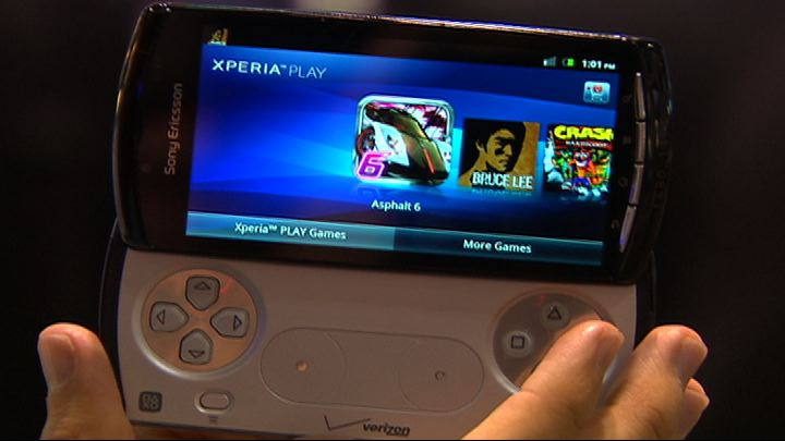 Video: Sony Ericsson Xperia Play
