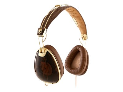 Skullcandy Roc Nation Aviator Headphones (Brown)
