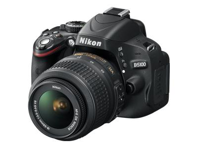 Nikon D5100 (with 18-55mm & 55-200mm VR lenses)