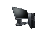 Lenovo ThinkCentre M91 7516 - Core i3 2100 3.1 GHz - Monitor : none.