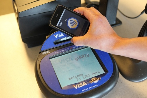 NFC-enabled (near-field communication technology)