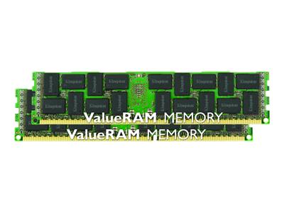 Kingston ValueRAM memory - 16 GB : 2 x 8 GB - DIMM 240-pin - DDR3