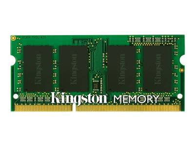 Kingston memory - 4 GB - SO DIMM 204-pin - DDR3