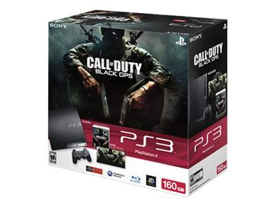Sony PlayStation 3 Slim (160GB) Call of Duty: Black Ops bundle