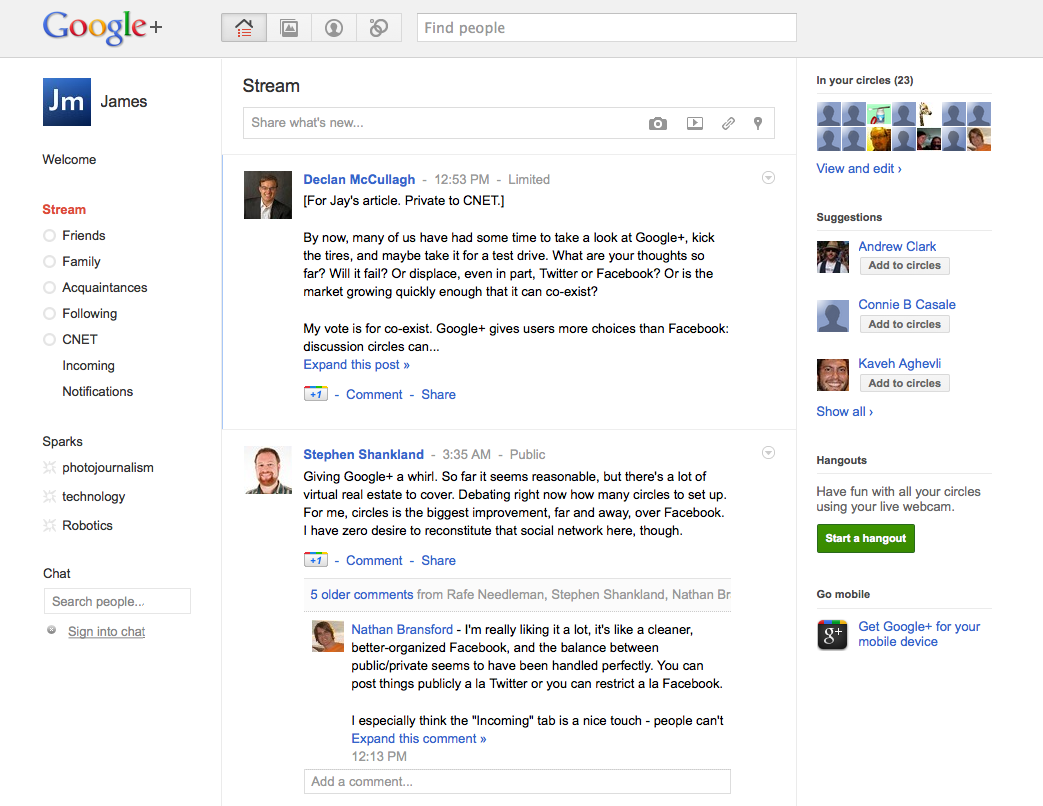 Google gets social, again