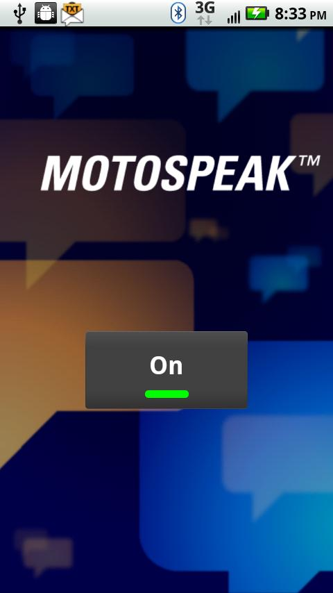 MotoSpeak app for Android