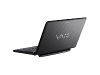"Sony VAIO E Series VPC-EG1AFX/B - P B940 / 2 GHz - Windows 7 Home Premium 64-bit - 4 GB RAM - 500 GB HDD - DVD-Writer - 14"" wide 1366 x 768 / HD - Intel HD Graphics - charcoal black - keyboard: QWERTY"