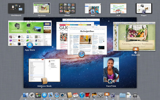 A screenshot of Mac OS X Lion.