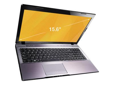 "Lenovo IdeaPad Z575 1299 - 15.6"" - A series A4-3300M - Win 7 Home Premium 64-bit - 4 GB RAM - 500 GB HDD"