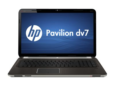 "HP Pavilion dv7-7133nr Entertainment - Core i7 3610QM / 2.3 GHz - Windows 7 Home Premium 64-bit - 8 GB RAM - 750 GB HDD - DVD SuperMulti - 17.3"" HD+ BrightView wide 1600 x 900 / HD+ - Intel HD Graphics 4000 - midnight black, brushed aluminum"
