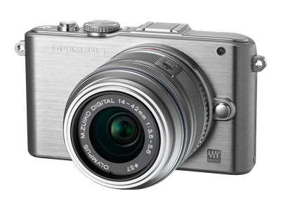 Olympus PEN E-PL3 (with 17mm lens, Silver)