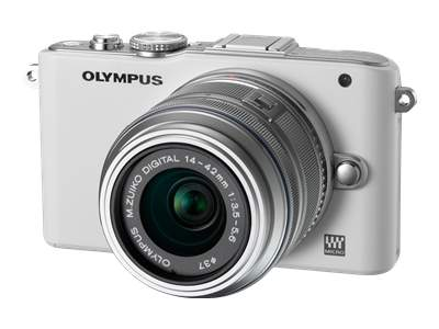 Olympus PEN E-PL3 (with 14-42mm lens, White)