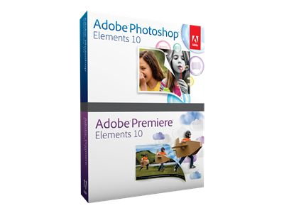 Adobe Photoshop Elements 10 plus Adobe Premiere Elements 10 - complete package