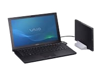 "Sony VAIO Z Series VPC-Z216GX/B - Core i7 2620M / 2.7 GHz - Windows 7 Professional 64-bit - 4 GB RAM - 128 GB SSD + 128 GB SSD - DVD-Writer / Blu-ray - 13.1"" wide 1920 x 1080 / Full HD - Intel HD Graphics 3000 - carbon black - keyboard: QWERTY - with Sony Power Media Dock"