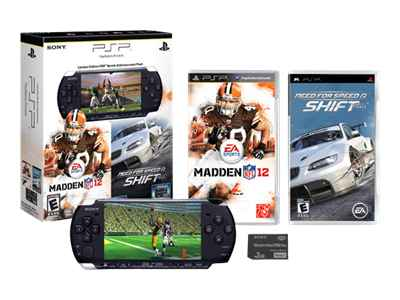 Sony PSP 3000 Limited Edition Sports Entertainment Pack