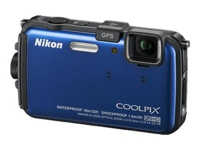 Nikon Coolpix AW100 (Blue)