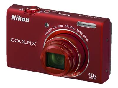 Nikon Coolpix S6200 (Red)