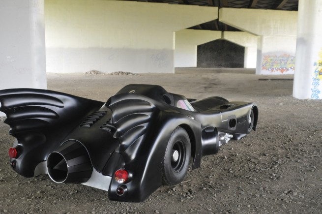 Batmobile replica--rear