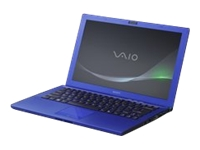 "Sony VAIO Z Series VPC-Z216GX/L - Core i7 2620M / 2.7 GHz - Windows 7 Professional 64-bit - 4 GB RAM - 128 GB SSD + 128 GB SSD - DVD-Writer / Blu-ray - 13.1"" wide 1920 x 1080 / Full HD - Intel HD Graphics 3000 - carbon indigo - keyboard: QWERTY - with Sony Power Media Dock"