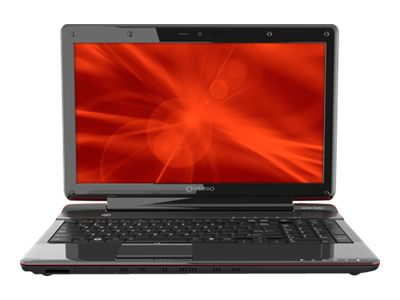 "Toshiba Qosmio F755-3D320 - Core i5 2430M / 2.4 GHz - Windows 7 Home Premium 64-bit - 6 GB RAM - 750 GB HDD - DVD SuperMulti DL / Blu-ray - 15.6"" 3D TruBrite wide 1920 x 1080 / Full HD - NVIDIA GeForce GT 540M - fusion 3D finish in brilliant red"