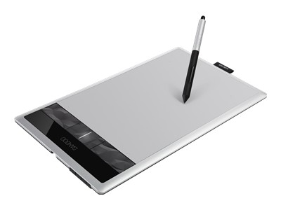 Wacom Bamboo Create - digitizer - USB - black, silver