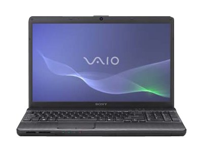 "Sony VAIO E Series VPC-EH27FX/B - Core i5 2430M / 2.4 GHz - Windows 7 Home Premium 64-bit - 4 GB RAM - 640 GB HDD - DVD-Writer / Blu-ray - 15.5"" wide 1366 x 768 / HD - Intel HD Graphics 3000 - charcoal black - keyboard: QWERTY"