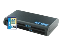 EDGE All-In-One Card Reader - card reader - flash: SDHC - Hi-Speed USB