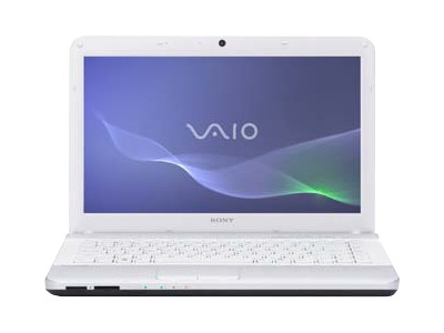 "Sony VAIO E Series VPC-EG2DFX/W - 14"" - Core i3 2330M - 4 GB RAM - 500 GB HDD - QWERTY"