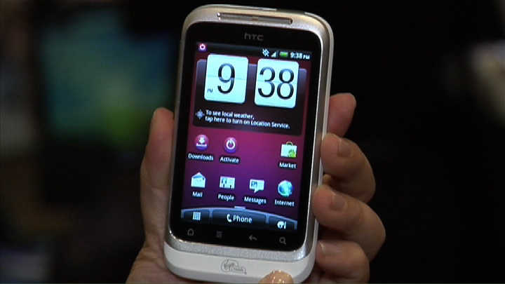 HTC Wildfire (Virgin Mobile)