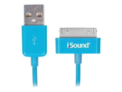 dreamGEAR i.Sound iPad / iPhone / iPod charging / data cable - USB - 3 ft
