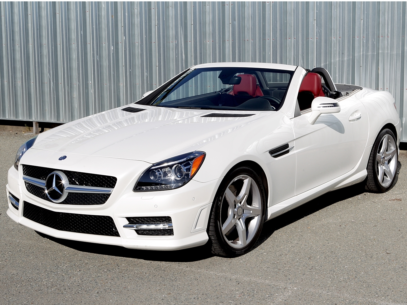 2012 mercedes benz slk350 review roadshow