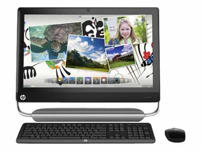 HP TouchSmart 520-1030 - Core i3 2120 3.3 GHz - 4 GB - 1 TB - LCD 23""