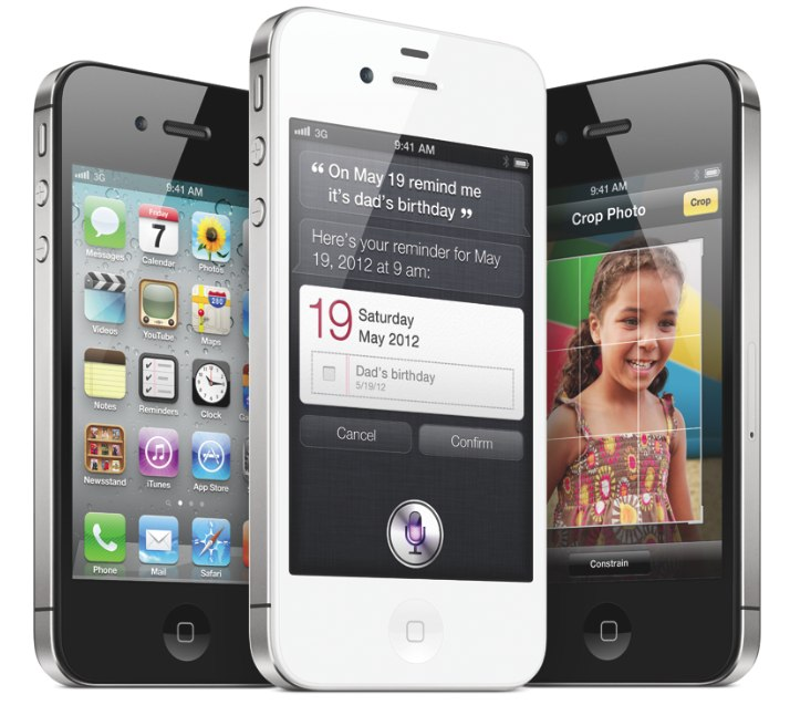 The iPhone 4S has been recommended by Consumer Reports.