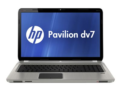 "HP Pavilion dv7-6157cl - A series A6-3400M / 1.4 GHz - Windows 7 Home Premium 64-bit - 6 GB RAM - 640 GB HDD - DVD-Writer / Blu-ray - 17.3"" HD+ BrightView wide 1600 x 900 / HD+ - AMD Radeon HD 6520G - brushed aluminum, argento - remarketed"