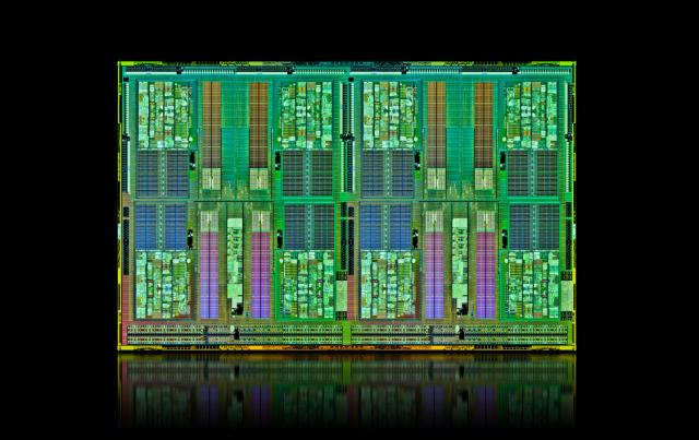 AMD's Opteron 6200 server chip has 16 processor cores.