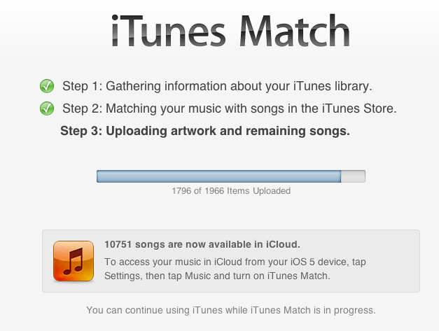 Apple's iTunes Match