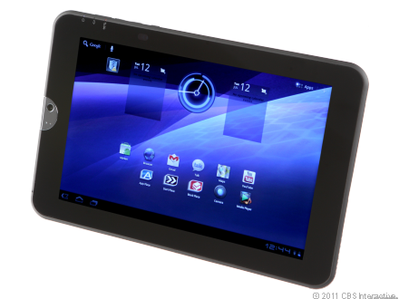The Toshiba Thrive is a powerful, but bulky, 10-inch Android tablet.