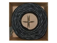 CableWholesale.com bulk cable - 1000 ft - black